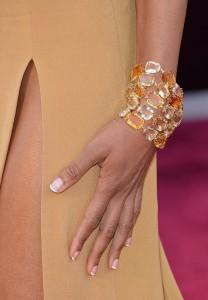 naomie harris // citrine + diamond h. stern bracelet