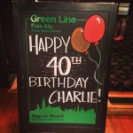 charlie's 40th partee