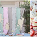 animal bebe shower idea