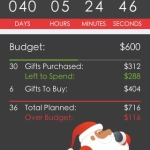 santa's bag: the ultimate christmas gift tracking app