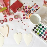 watercolor valentine's day cards