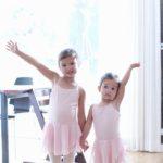 ellie's first ballet class